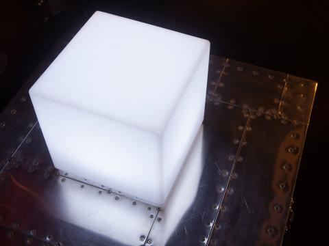 LED Indoor Outdoor Furniture RGBW Wi-Fi ledcube Alive! LEDZ Cube20