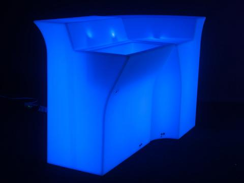 LED Indoor Outdoor Furniture RGBW Wi-Fi Bar Set Alive! LEDZ Glow Bar