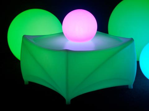 LED Furniture Table Alive! LEDZ Pillow