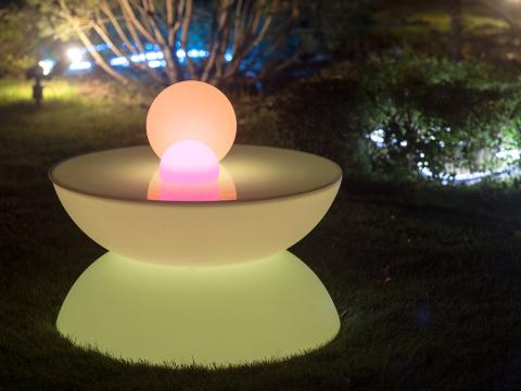 LED Furniture RGBW Wi-Fi table Alive! LEDZ Yo-Yo S