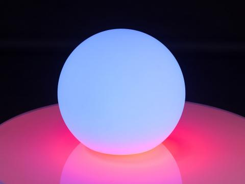 LED Indoor Outdoor Furniture RGBW Wi-Fi Led Ball Waterproof Globe Lamp Alive! LEDZ Globe 25