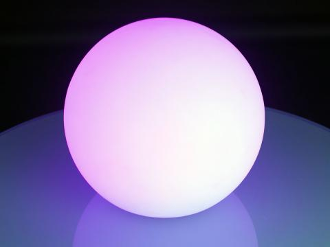 LED Indoor Outdoor Furniture RGBW Wi-Fi Led Ball Waterproof Globe Lamp Alive! LEDZ Globe 50