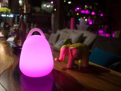 LED Indoor Outdoor Furniture RGBW Wi-Fi Led Ball Waterproof Lamp Alive! LEDZ Hanger